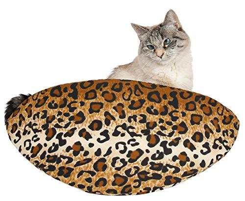 Jumbo Cat Canoe Modern Bed for Big Cats (Leopard)