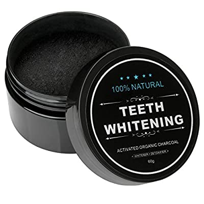 Best Cheap Deal for Iwotou Teeth Whitening Charcoal Powder Natural Activated Charcoal Powder Teeth Whitener of Organic Coconut Shells for Healthy Cleaner Whiter Teeth from iwotou - Free 2 Day Shipping Available