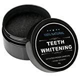 Iwotou Teeth Whitening Charcoal Powder Natural Activated Charcoal Powder Teeth Whitener of Organic Coconut Shells for Healthy Cleaner Whiter Teeth (Mint)