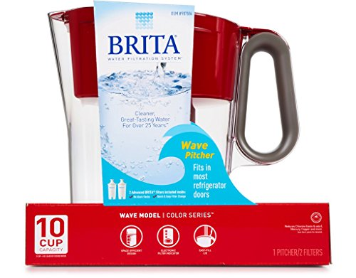 ter Pitcher Plus 2 Advance Filters (Red/Clear) ()