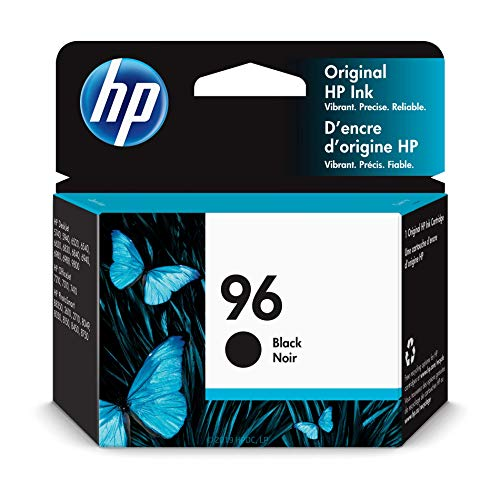 HP 96 Black Ink Cartridge (C8767WN) for HP Deskjet 6830 6840 6940 6988 9800 HP Officejet 7210 7410 HP Photosmart 2572 8049 8050 8150 8450 8750 B8350