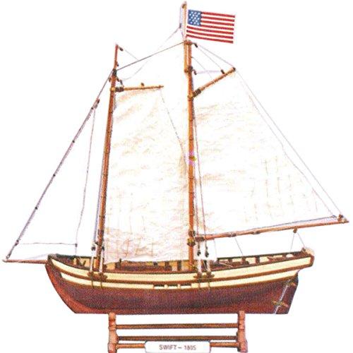 Barca statica Storico swift 53x12x44cm - Phoenix Model - NM-001