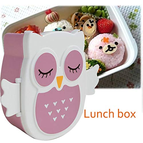 DREZZED School Office Portable Cartoon Cute Lunch Box Food Storage Container Bowls from DREZZED