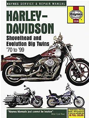 Haynes Manuals N/Amanual H/D Big Twin 70 99 M2536 New