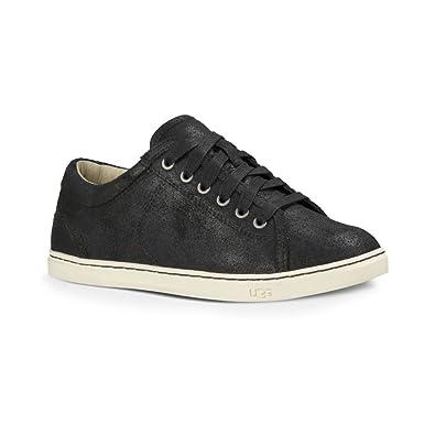 UGG Australia Womens Tomi Sneaker Black Size 6