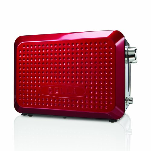 BELLA 13701 Dots Collection 2-Slice Toaster, Red - Import ...