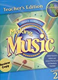 img - for Silver Burdett: Making Music, Teacher's Edition, Grade 2, Part 1 book / textbook / text book