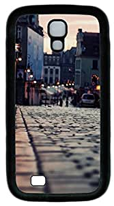 Samsung Galaxy S4 I9500 Cases & Covers - London Sidewalk Custom TPU Soft Case Cover Protector for Samsung Galaxy S4 I9500 - Black