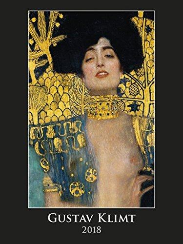 Gustav Klimt 2018 - Bildkalender (42 x 56) - Kunstkalender - Metallicfolienveredelung -