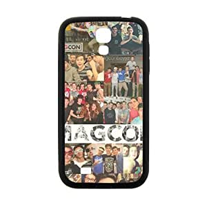 Cool painting Magcon Fashion Comstom Plastic case cover For Samsung Galaxy S4