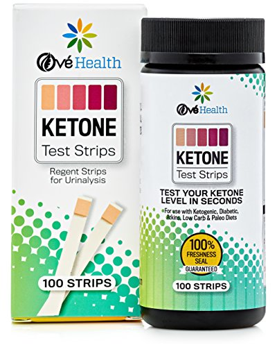KETONE TEST STRIPS | Perfect Keto Strip for Low Carb, Atkins, Diabetic and Ketogenic Diet