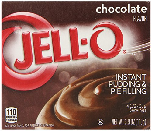 Jell O Instant Pudding Chocolate 3 9 Ounce product image
