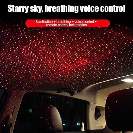Phnirva Car Atmosphere Lamp Indoor Atmosphere LED Night Light Star Projector Decoration K5