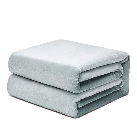 Amazon.com: U|R Extra Large Super Soft Fluffy Solid Flannel ...