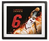 """LeBron James Signed Autographed 16X20 Photo & Jersey Number """"Galaxy"""" Heat UDA"""