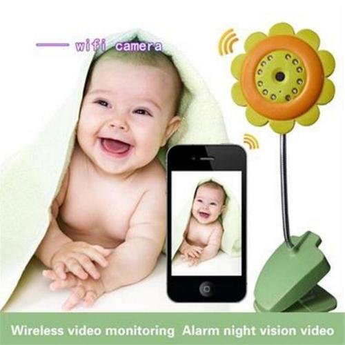 EP(US) Wireless Wifi Video Baby Monitor- remote monitoring, Smart Camera Monitors With Infrared Night-Light,HD,CMOS Sensor Lens,Surveillance Video Recorders (Infrared Sensor Smartphone compare prices)