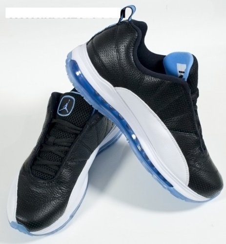 5900daafd699 NIKE AIR JORDAN CMFT Max Air 12 LTR Sneakers men shoes Black University  Blue-White 434034-001 Size 10.5 new E  Amazon.ca  Sports   Outdoors