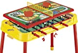 Mightymast Dribbling Plus Multigames Table - Yellow/Red
