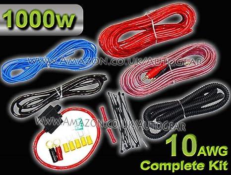 10 AWG 1000 Watt 12 V Auto Amp Verstärker aktiv Sub Box komplett ...