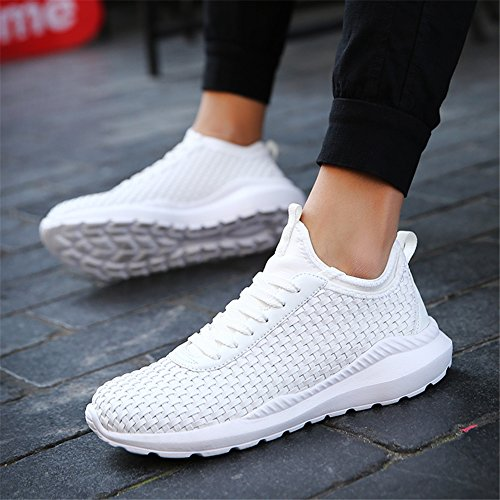 Shoes Walking X UBFEN Breathable Running Trainers Gym Sneakers Athletic Fashion White Casual Sports Men's Fitness Lightweight wIqftB