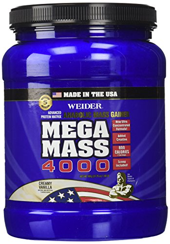 Weider Mega Mass 4000 Supplement