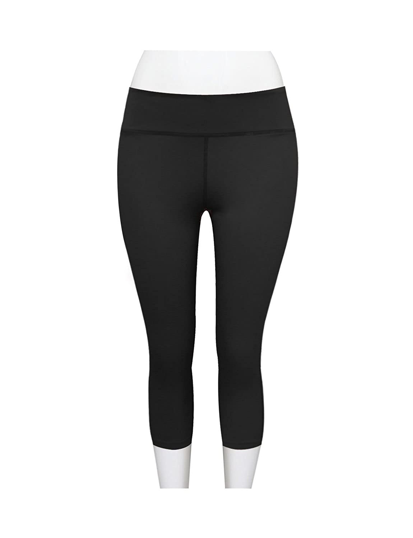 0646e5d18466a2 Amazon.com: TAM WARE Women's Stretchy Basic Yoga Capris Leggings Pants:  Clothing