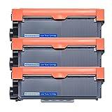 3 Packs High Yield TN630 TN660 Replacement Toner Cartridges for Brother HL-L2340DW HL-L2300D HL-L2380DW MFC-L2700DW L2740DW DCP-L2540DW L2520DW HL-L2320D MFC-L2720DW L2740DW Printer