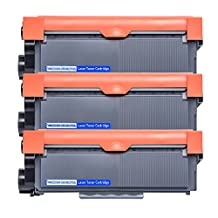 3 Packs High Yield TN630 TN660 Replacement Toner Cartridges for Brother HL-L2340DW HL-L2300D HL-L2380DW MFC-L2700DW L2740DW DCP-L2540DW L2520DW HL-L2320D MFC-L2720DW L2740DW Printer