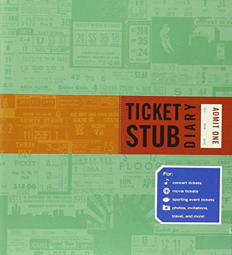 Ticket Stub Diary by Eric Epstein (13-Feb-2012) Hardcover (Stub Tickets Diary)
