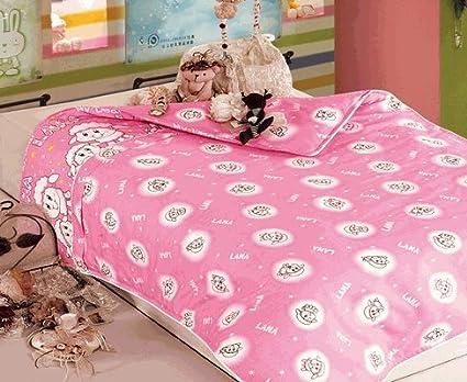 Infant / Baby Toddler 100% Cotton Comforter Duvet Cover Pink- Lasin Bedding DVCV-INPK