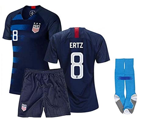 best sneakers 3ed28 bc20a Amazon.com : ZZXYSY Julie Ertz #8 USA National Team Kids ...
