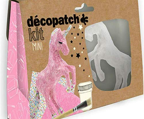 Set of Decoupage Unicorn, Décopatch, Sets, Animals, Subjects, Hobby Colors