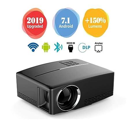 Mini Proyector Cine en Casa Full HD,Imágenes de 28 a 180 Pulgadas ...