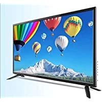 32 Inches Full smart TV Not flash high brightness of 1366x768, ratio 16:9 color black with interface of VGA HDMI USB TV CVBS