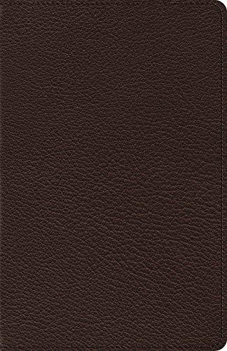 - ESV Heirloom Thinline Bible (Goatskin, Brown)