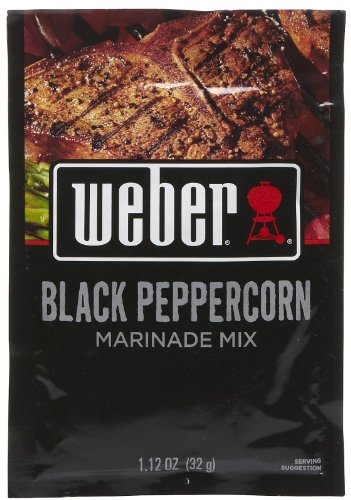(Weber Grill Black Peppercorn Marinade-1.12 oz, 12 pk)