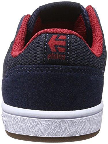 etnies EtniesKids Marana - Zapatillas de Skateboard Unisex Niños Blau (438 , BLUE/RED/WHITE)