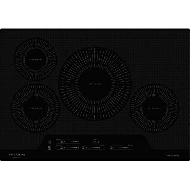 "Frigidaire FGIC3066T 30"" Wide Built-In Electric Cooktop with Auto Sizing Pan, Black"
