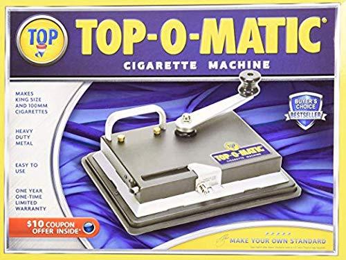 Lighter USA New Top-O-Matic Cigarette Rolling Machine