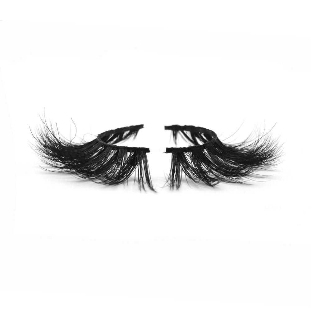 Lotecoarts 3D Mink Lashes Dramatic Makeup False Eyelashes Natural Strip Reusable Fake Eyelashes for Women one Pair Package (3D-015)