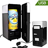 Mini Fridge Cooler and Warmer zinnor USB Freestanding Portable - For Home, Office, Car, Dorm or Boat 5V DC