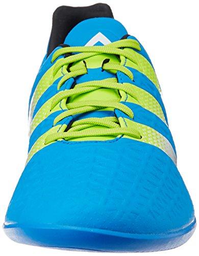 adidas Herren Ace 16.3 in Fußballschuhe Blau (Shock Blue/Semi Solar Slime/Ftwr White)