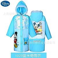 Powerful Raincoat Mickey Minnie Mouse Frozen Princess Children Kids Girls Poncho Boys Rainwear Baby Rainsuit Gifts Outdoor