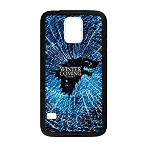 Game of Thrones Stark Family Pattern Image Case Cover Hard Plastic Case for Samsung Galaxy S5 i9600 Regular