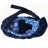 Cheap OrgMemory Pet Sling Carrier, Adjustable Sling Bag, Small Dog Cat Outdoor Shoulder Carrier Bag (Blue Sea)