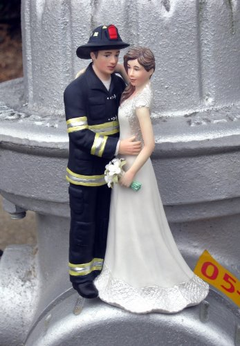 Firefighter Cake Topper (Firefighter Cake Topper by Magical Day,)