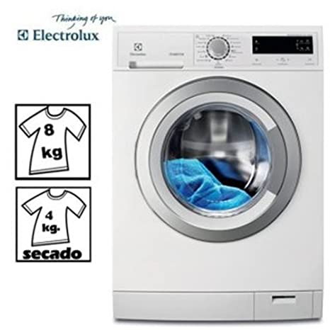 LAVADORA-SECADORA ELECTROLUX EWW1685SWD 8/4KG 1600: Amazon.es ...