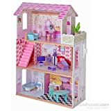 Serra Baby Learning 3Times Furnished Wooden Baby House - With Balcony