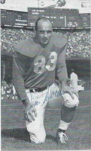 Jim Doran Autographed Signed 3X5 Postcard Photo PSA/DNA Detroit Lions from Sports Collectibles Online