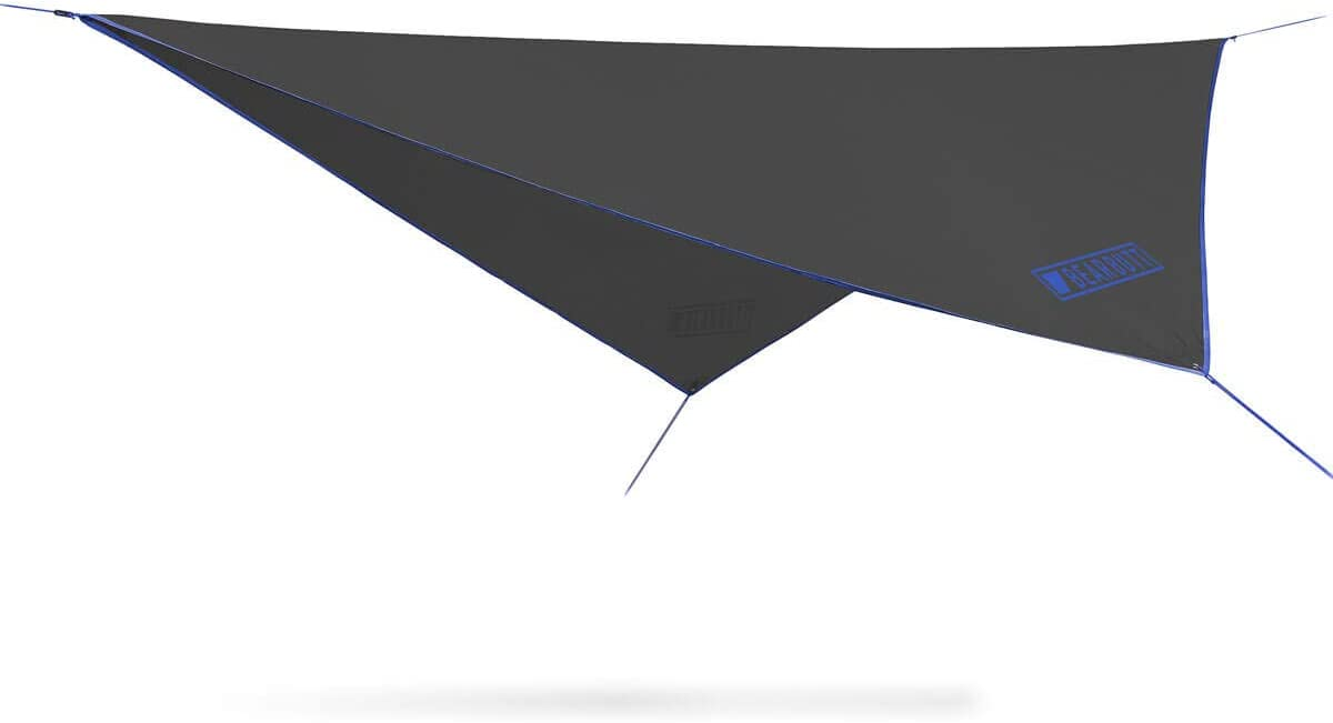 Bear Butt Double Hammock Tent Rain Fly – Cover for Camping, Hiking, Backpacking, Easy Set Up, Waterproof Tent Polyester – 5 Colors Available